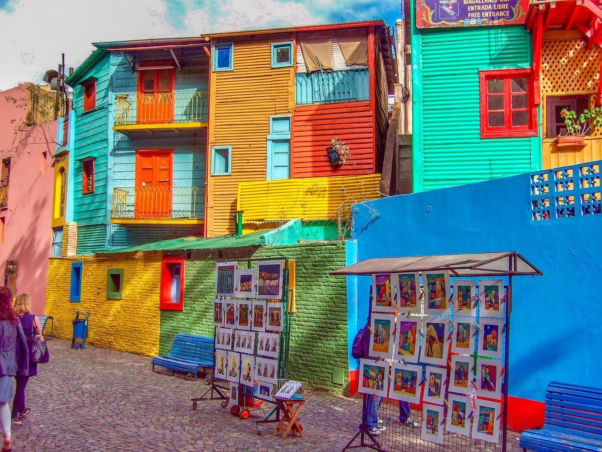 La Boca - Un barrio con profunda raiz cultural